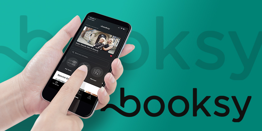 Book online with Booksy...